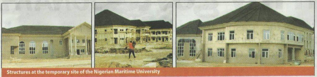Nigerian Maritime University Building Structure