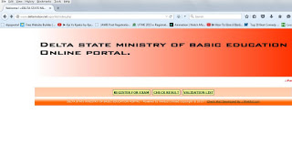 bece result checking website