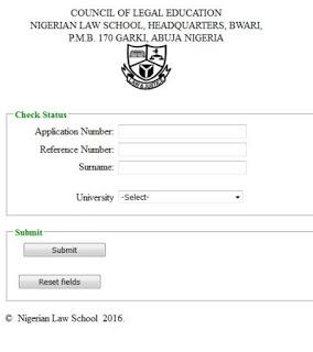 nigeria-law-school-admission-checking