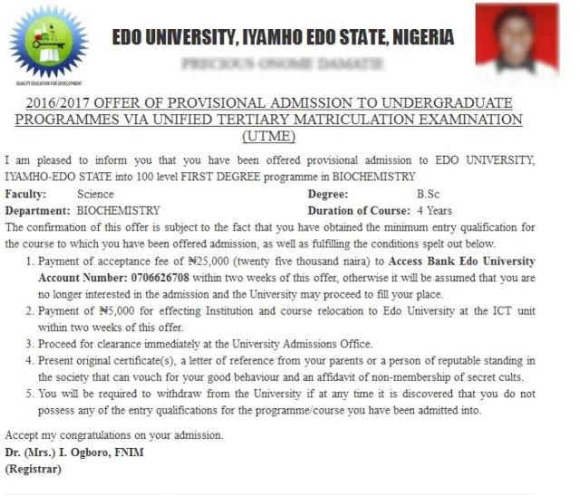 edo-state-university-iyahmo-admission-status-printing