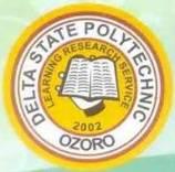 delta state polytechnic ozoro hnd form