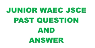 junior waec past questions and answers