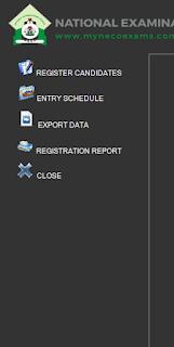 neco offline registration