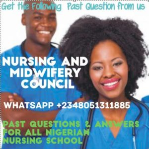 nursing-midwifery-council-nigeria-nmcn-past-questions-paper