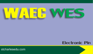 WAEC WES Scratch Card Pin