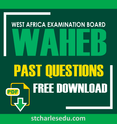 WAHEB Past Questions and Answers