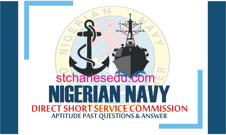 Nigerian Navy DSSC Past Question