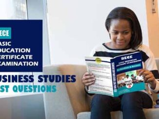 Junior WAEC Business Study Past Questions