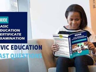 Junior WAEC Civic Education Past Questions