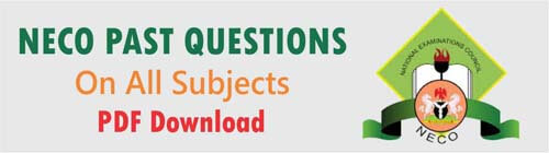neco past questions and answers pdf free download