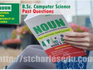 Computer Science NOUN Past Questions Paper Download