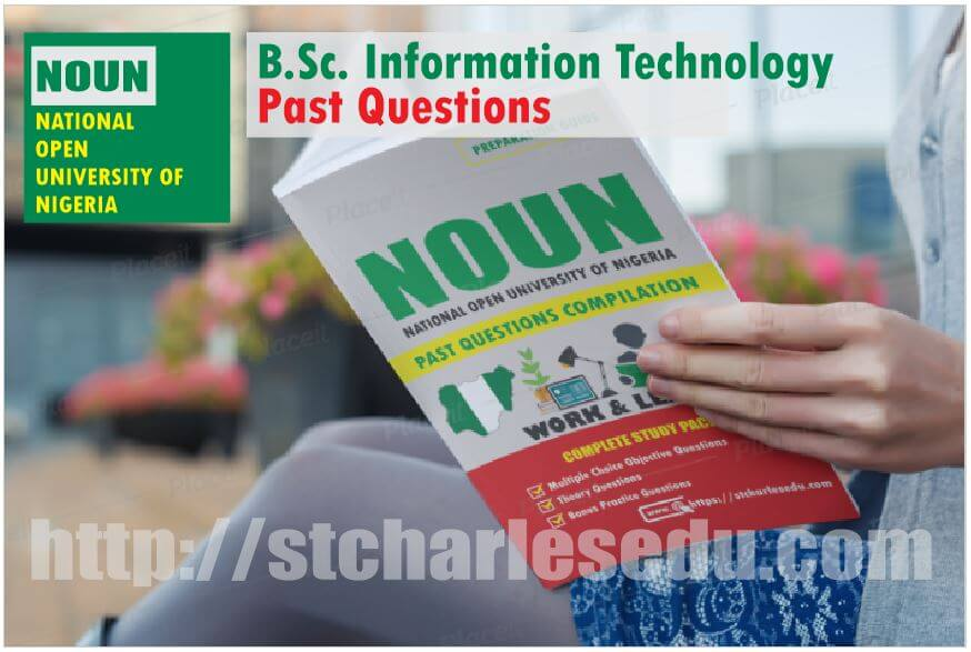 Information Technology NOUN Past Questions Paper Download
