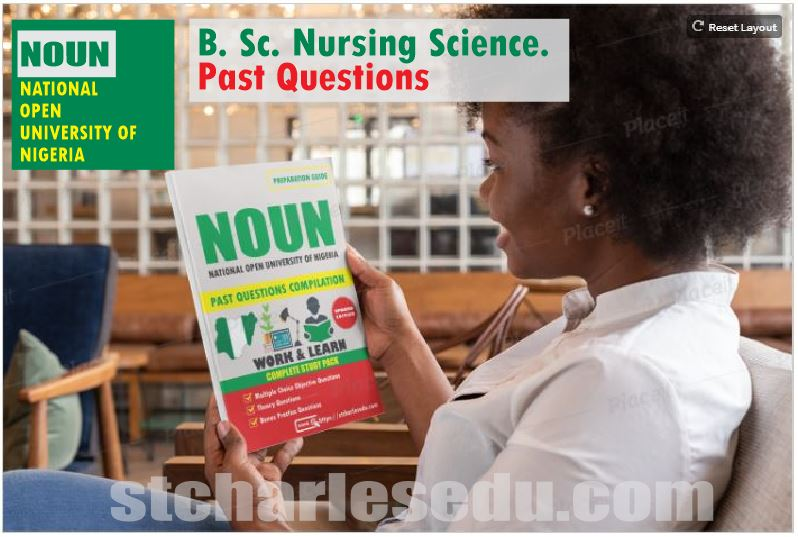 Download Noun Exam Past Questions Paper for Nursing Science in PDF format POP, TMA, National Open University