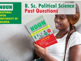 Political Science NOUN Past Questions Paper Download