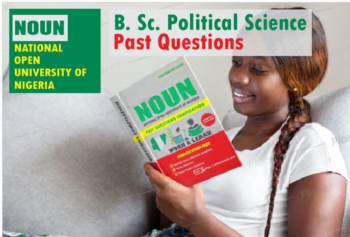 Political Science NOUN Past Questions Paper Download