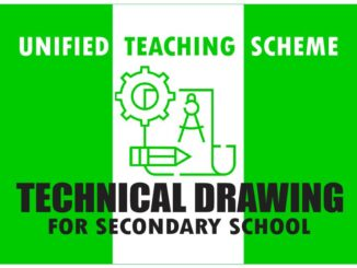 technical drawing scheme of work for senior secondary school