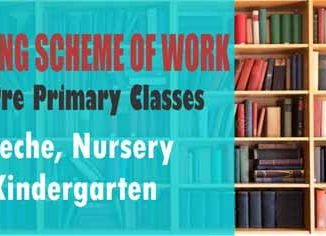 Pre Primary Curriculum - Nursery