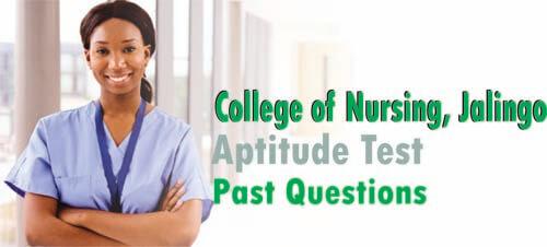 Jalingo School of Nursing Past Questions