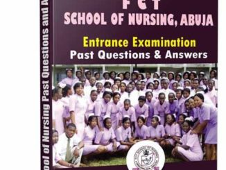 School of Nursing Abuja Past Questions
