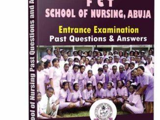 School of Nursing Abuja Past Questions