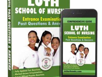 Lagos University Teaching Hospital Idi Araba Past Questions
