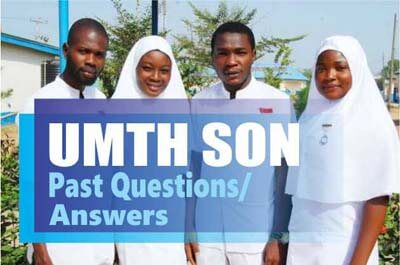 University of Maiduguri Teaching Hospital Past Questions