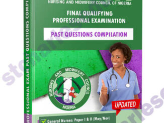 Nursing & Midwifery Council of Nigeria Exam Questions