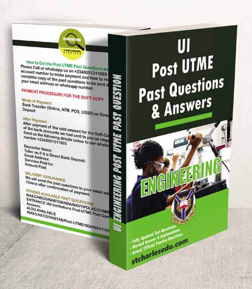 UI Engineering Post UTME Past Questions