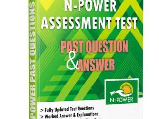 Npower Aptitude Assessment Test Past Questions