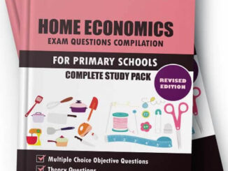 Nigeria Primary School Home Economics Exam Questions