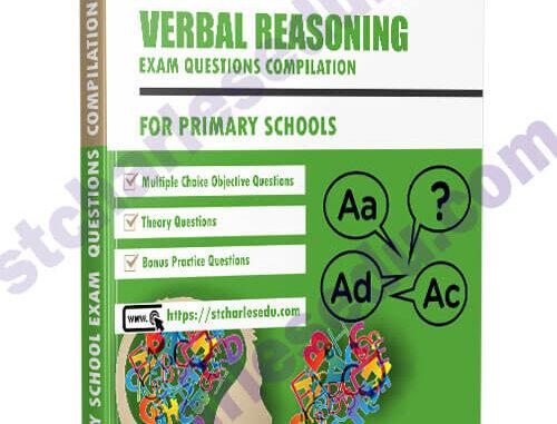 Primary School Verbal Reasoning Exam Questions