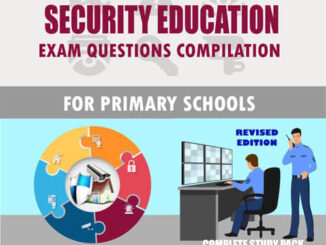 Security Education Objective Questions for Primary