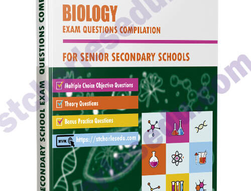 Biology Exam Questions Paper for SS1, SS2, SS3
