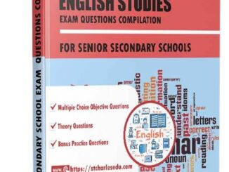 English Studies Exam Questions for Senior Secondary School