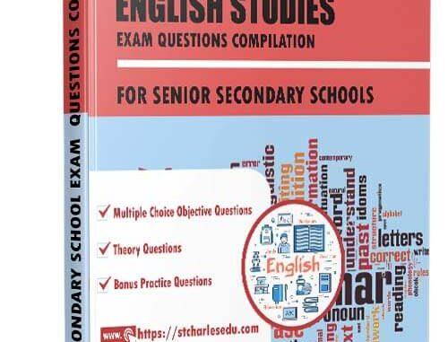 English Studies Exam Questions for Senior Secondary School