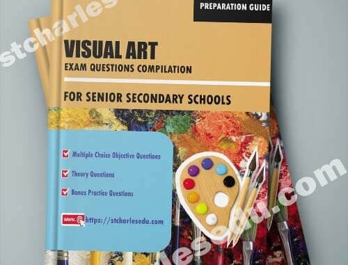 Visual Art Exam Questions Objective and Theory for Senior Secondary School all Term in Ms Word format