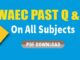 WAEC Past Questions PDF Nigeria
